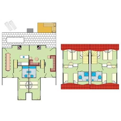 Px cottage vip sl770 de center parcs park hochsauerland for 770 plan