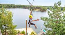 Super Zip Wire à Center Parcs De Vossemeren